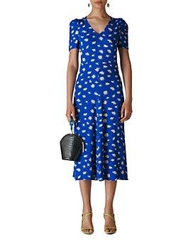 Whistles - Jolanta Daisy-Print Midi Dress