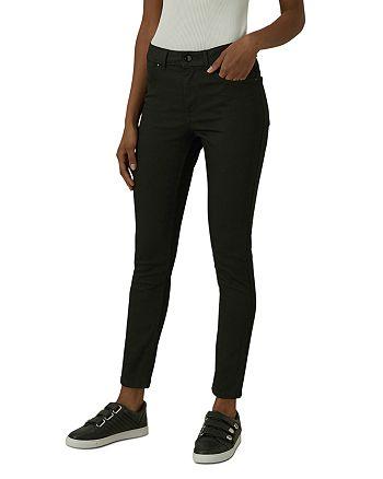 KAREN MILLEN - Ankle Skinny Jeans in Black