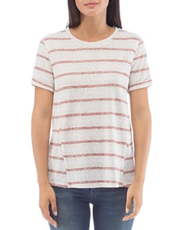 B Collection by Bobeau - Ellery Striped Tee