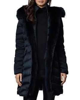 Dawn Levy - Jet Setter Fur Trim Coat