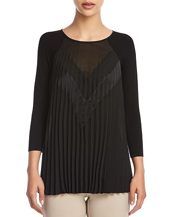 Bailey 44 - Pleated-Front Top