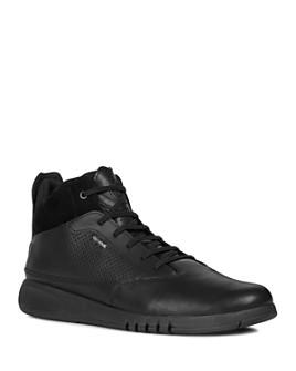 Geox - Men's Aerantis Leather Sneakers