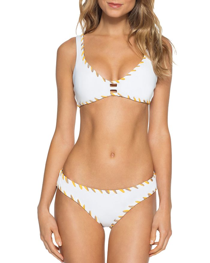 BECCA® by Rebecca Virtue - Camille Reversible Bralette American Bikini Top & Bikini Bottom
