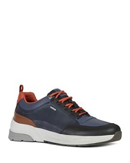 Geox - Men's Rockson Waterproof Lace-Up Sneakers