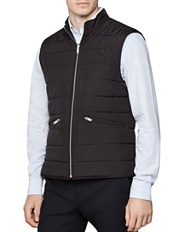 REISS - Voyage Reversible Quilted Vest