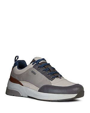 Geox Men\\\'s Rockson Waterproof Lace-Up Sneakers
