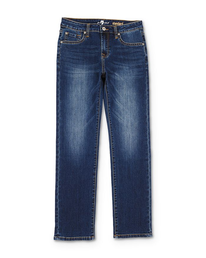 7 For All Mankind - Boys' Standard Straight Jeans - Little Kid