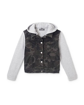 DL1961 - Boys' Manning Camo Jacket - Big Kid