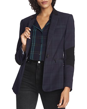 1.STATE - Plaid Blazer