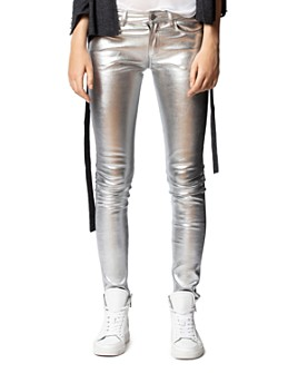 Zadig & Voltaire - Phlame Leather Skinny Pants