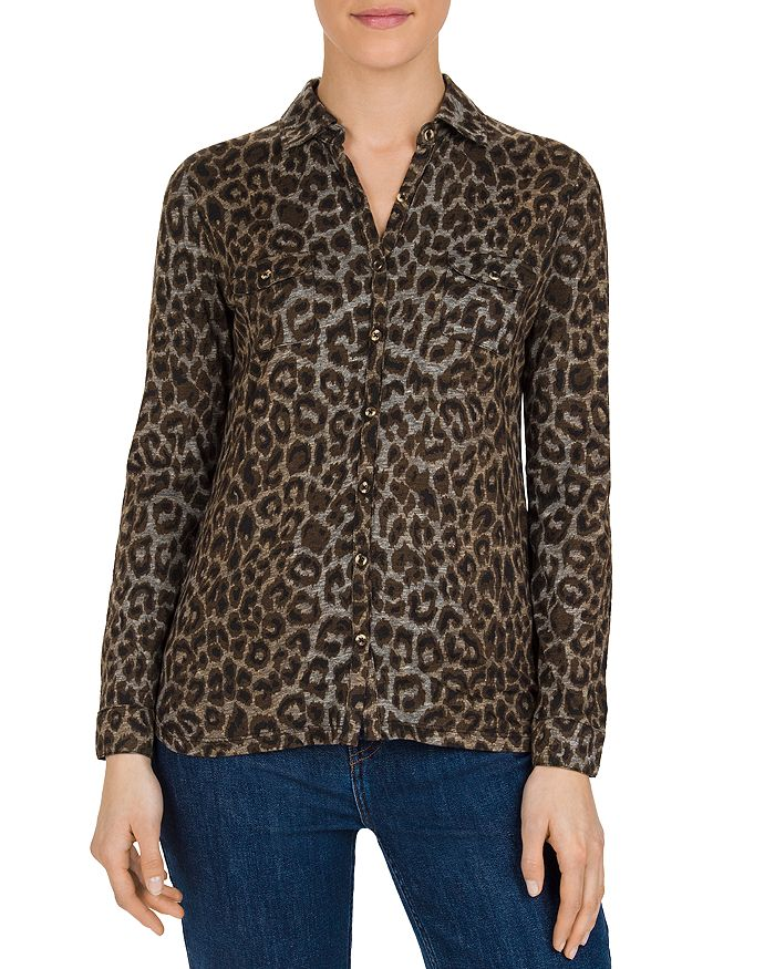 Gerard Darel - Eddy Leopard-Print Button-Down Shirt