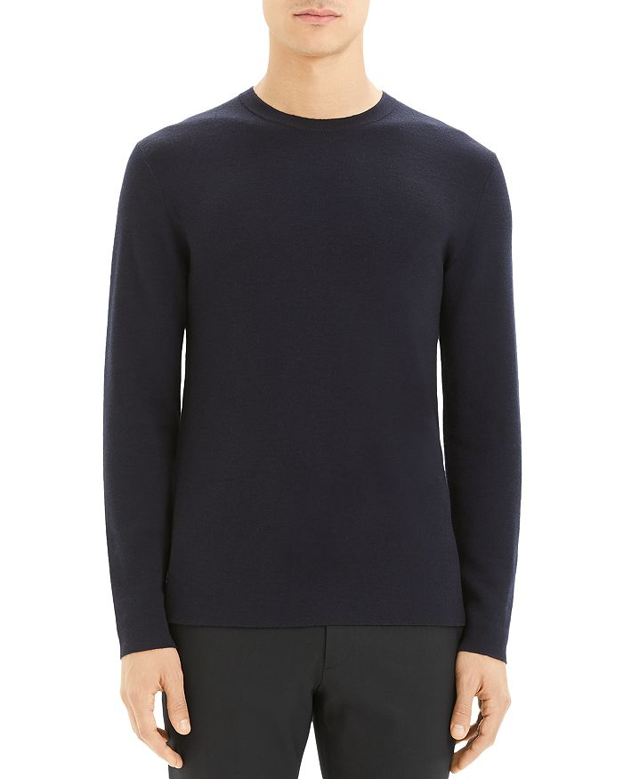 Theory - Detroe Milos Merino Wool Crewneck Sweater