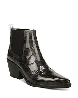 Sam Edelman - Women's Winona Leopard-Print Rain Boots