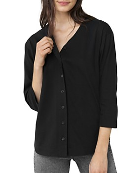 3x1 - Button-Front Tee
