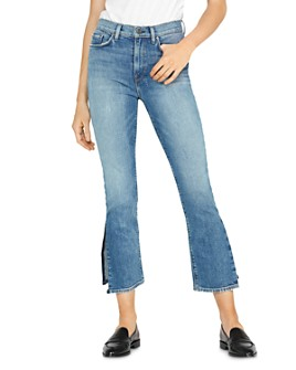 Hudson - Holly Crop Straight Jeans in Lonesome