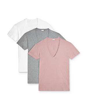 2(X)ist Tops 2(X)IST SLIM FIT DEEP V-NECK TEE, PACK OF 3