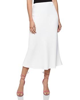 REISS - Remy A-Line Midi Skirt