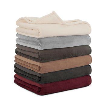 Vellux - Faux Sheared Mink Blanket, Full/Queen