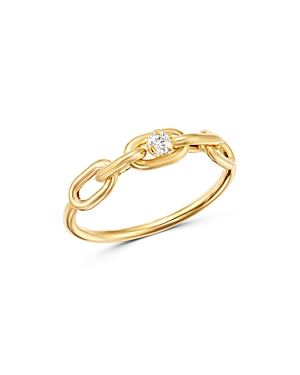14KY .05C Ovl Link Ring-Jewelry & Accessories