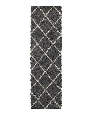 Oriental Weavers Henderson Shag 90 Runner Rug, 2'3 x 7'6