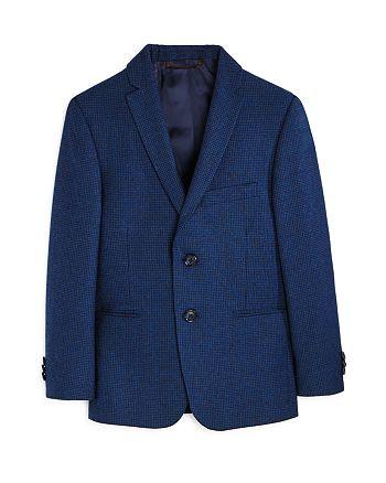 Michael Kors - Boys' Checkered Tweed Jacket - Big Kid