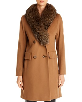 Maximilian Furs - Fleurette Wool Coat - 100% Exclusive