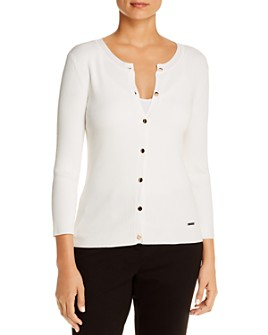 T Tahari - Ribbed Cardigan