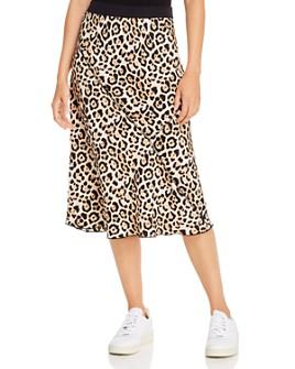 ATM Anthony Thomas Melillo - Jaguar-Printed Silk Pull-On Skirt