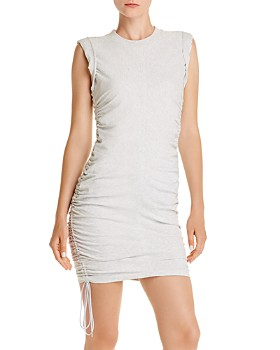 alexanderwang.t - Ruched T-Shirt Dress