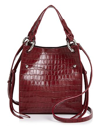 Rebecca Minkoff - Kate Mini Croc-Embossed Tote