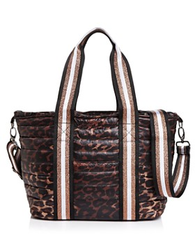 Think Royln - Junior Wingman Leopard-Print Tote
