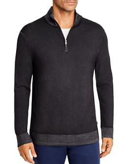 Michael Kors - Merino Wool Half-Zip Sweater - 100% Exclusive