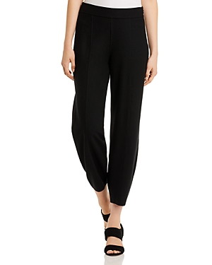 Eileen Fisher Wool Ankle Jogger Pants