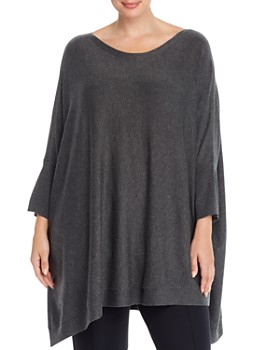 Eileen Fisher Plus - Poncho Sweater