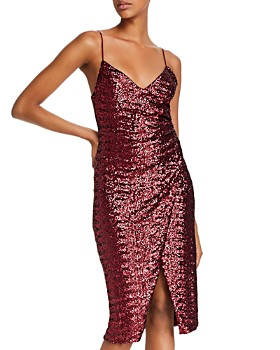 Black Halo - Bowery Sequined Sheath Dress - 100% Exclusive