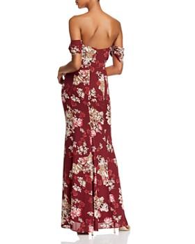 WAYF - Rachel Strapless Maxi Dress
