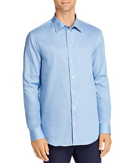 Armani - Diamond Print Regular Fit Sport Shirt