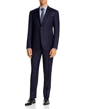 Armani - Micro-Check Virgin Wool Regular Fit Suit