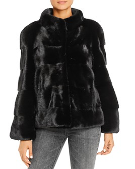 Maximilian Furs - Mink Fur Short Coat