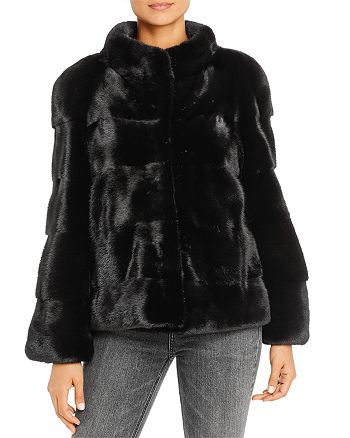 Maximilian Furs - Mink Fur Short Coat