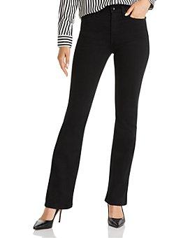 rag & bone - Nina High-Rise Boot Jeans in No Fade Black
