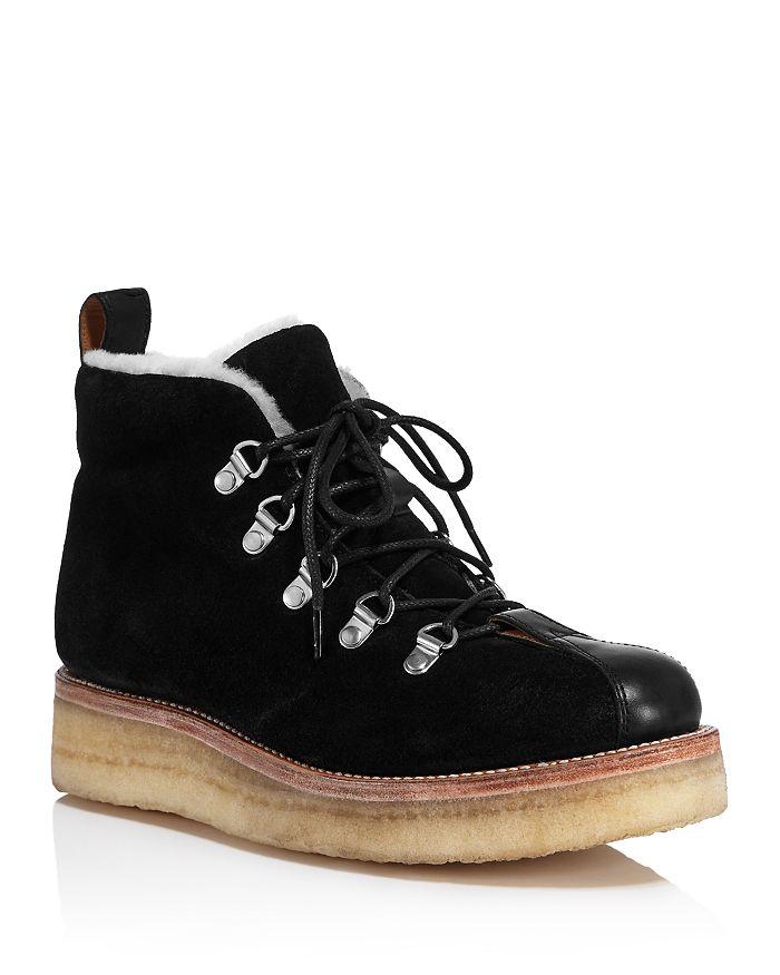 Grenson Women's Bridget Hiker Boots In Black