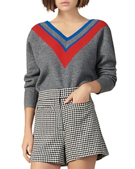 Sandro - Stripey Sweater