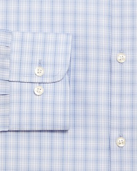 The Men's Store at Bloomingdale's - Plaid Stretch Regular Fit Dress Shirt