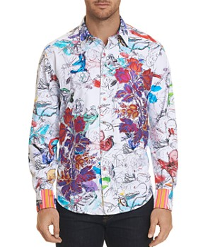 Robert Graham - Limited Edition 'Petal to the Metal' Classic Fit Shirt