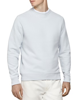 REISS - Arthur Garment-Dyed Crewneck Sweatshirt