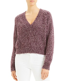 Theory - Marled V-Neck Sweater