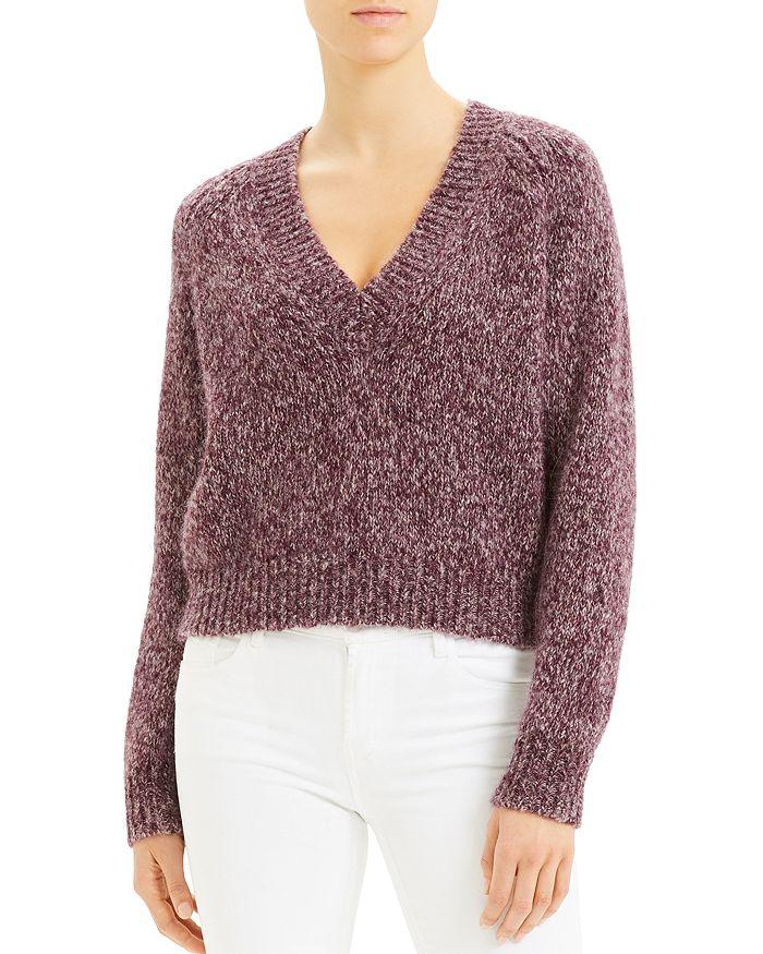 Theory - Marled V-Neck Sweater