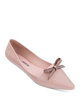 Melissa - x Jason Wu Women's Bow Pointed Toe Flats