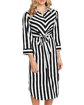 VINCE CAMUTO - Striped Shirt Dress